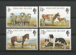 Falkland 1981 Farm Animals Y.T. 314/317 ** - Falklandinseln