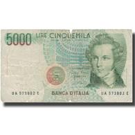 Billet, Italie, 5000 Lire, 1985, KM:111a, TB - 5000 Liras
