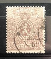 België, 1866-67, Kleine Leeuw, Nr 25A, OBP 100€ - 1866-1867 Petit Lion (Kleiner Löwe)