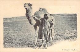 TUNISIE Un Chamelier Et Son Dromadaire Carte Précurseur Soler 288 - Tunisie