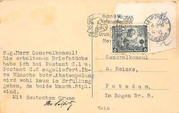 1934.- DEUTSCHES REICH WAGNER PSOTKARD MIT Mi 502A UND EPETIAL POSTMARK - Cartas