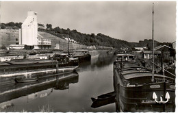 PENICHE    VOUZIERS  LE CANAL  ET LE SILO - Houseboats