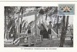 Portugal & Maximum Card, XVIII Conferencia Internacional Do Escutismo, Lisboa 1962 (890) - Other