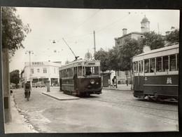 Photographie Originale De J.BAZIN : Tramways De BORDEAUX : ORNANO En 1956 - Trenes