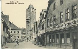 Lohr A.M. Vorstadtstrasse Mit Stadtturm (Clear, Not Circulated) - Lohr
