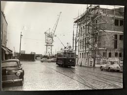 Photographie Originale De J.BAZIN : Tramways De BORDEAUX : QUAI Des CHARTRONS En 1956 - Trenes