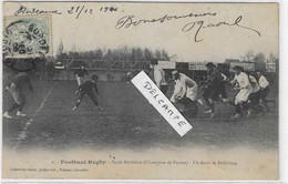 33 BORDEAUX ? STADE BORDELAIS FOOTBAAL RUGBY ARRET DRIBBLING 1906   ANIMATION   BEAU PLAN - Altri Comuni