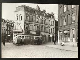 Photographie Originale De J.BAZIN : Tramways De LILLE (CGIT/ TELB)  : Porte De BETHUNE En 1955 - Trenes