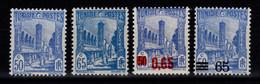 Tunisie - YV 181 & 181A + 182 & 183 N** - Ungebraucht
