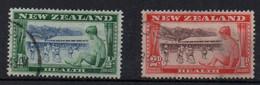 NOUVELLE-ZELANDE - NEW ZEALAND - 1948 - OEUVRES POUR LA SANTE DE L'ENFANCE - WELFARE FOR THE CHILDREN - Used - Oblitéré - Used Stamps