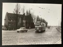 Photographie Originale De J.BAZIN : Tramways De LILLE (CGIT/ TELB): Palais De La FOIRE En 1960 - Trenes