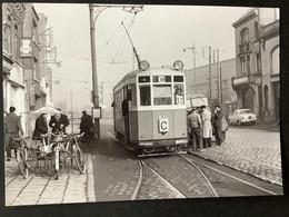 Photographie Originale De J.BAZIN : Tramways De LILLE (CGIT/ TELB): P.S.d'ARRAS En 1959 - Trenes
