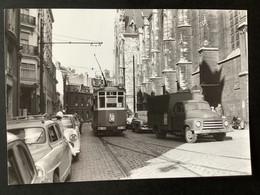 Photographie Originale De J.BAZIN : Tramways De LILLE (CGIT/ TELB): Eglise SAINT - MAURICE En 1958 - Trenes
