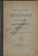 Sint-Truiden Notice Historique Sur Le Beguinage/Begijnhof Sainte Agnès 1876 (R410) - 1801-1900