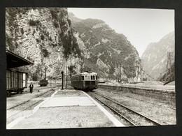 Photographie Originale De J.BAZIN : Autorails : Gare De VILLARS  Sur VAR ( Alpes Maritimes ) En 1962 - Treinen