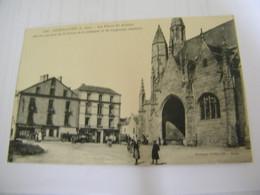 CPA - Guérande (44) - Place St Saint Aubin - Buvette Du Marché - Tabac - 1910 - SUP  (FL 70) - Guérande