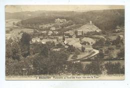 Rochefort Panorama Du Fond Des Vaux Vue Vers La Tour ( Taches Au Dos ) - Rochefort