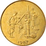 Monnaie, West African States, 10 Francs, 1987, TTB, Aluminum-Bronze, KM:10 - Elfenbeinküste