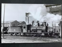 Photographie Originale De Marc DAHLSTRÖM : RENFE:Train Vapeur 130-2137  à AGUILAS En 1965 - Trenes