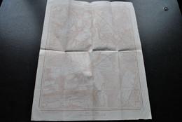 Carte HOUYET 59/1 1924? Institut Géographique Militaire Topographique Hour Wanlin Focant Fenffe Ciergnon Lissoir Gozin - Carte Topografiche