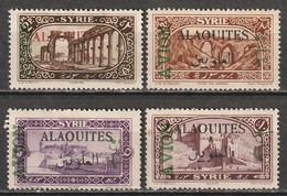 Alaouites Poste Aérienne N° 5 - 8 * Voir Description - Ungebraucht