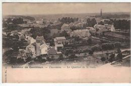 Souvenir De Gembloux - Panorama - Le Quartier De La Gare - Nels Série 22 N°15 - Gembloux