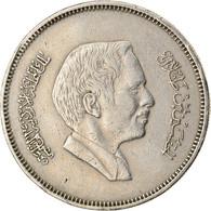 Monnaie, Jordan, Hussein, 50 Fils, 1/2 Dirham, 1978/AH1398, TTB, Copper-nickel - Jordan