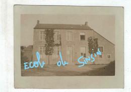 Somme Leuze - Ecole De Sinsin - Ancienne Photographie Petit Format - RARE - Somme-Leuze