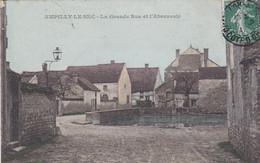 Carte-Postale  France LAmpilly Le Sec La Grande Rue Et L'abreuvoir - Autres Communes