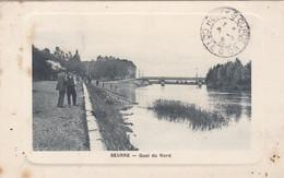 Carte-Postale  France  Seurre Quai Du Nord - Autres Communes