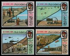 Oman 1976 - Mi-Nr. 172-175 ** - MNH - Nationalfeiertag - Oman