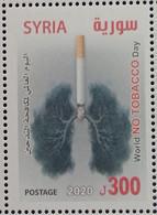 Syria NEW MNH 2020 Issue - World NO TOBACCO Day, No To Smoking Cigarette - Siria