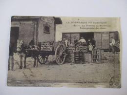 CPA CP 50 MANCHE VAL DE SAIRE BRETTEVILLE 50 1912  LA GARE Legoubey GP EMBARQUEMENT DES CHOUX PRIMEURS DE NORMANDIE - Other Municipalities