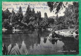 Salsomaggiore Terme (Emilia-Romagna) Laghetto 2scans 12-09-1958 - Andere Steden