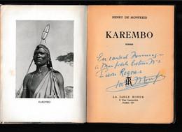 Henry De MONFREID Dédicacé : KAREMBO - Non Classificati