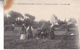 14-HERMANVILLE SUR MER PROMENADE CHAMPETRE TACHE COIN HAUT GAUCHE - Sonstige Gemeinden