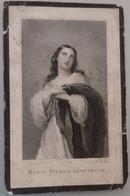 Lodewijk Josef Van Den Broeck-burgemeester Willebroeck-1805-1875 Erg Vlekkerig - Devotion Images