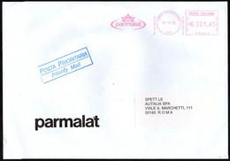 ITALIA COLLECCHIO (PR) 2005 - METER / EMA PARMALAT - LATTE YOGURT FORMAGGI - BUSTA VIAGGIATA - Food