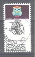 France Autoadhésif Oblitéré N°1929 (Chouettes - Timbre Suivi) (cachet Rond) - 2010-.. Matasellados