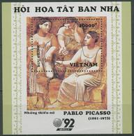 Vietnam 1992 EXPO Malerei Gemälde Pablo Picasso Block 100 Postfrisch (C97876) - Vietnam