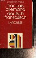 Dictionnaire Français-Allemand - Deutsch-Französisch - Clédière Jean, Rocher Daniel - 1976 - Atlas