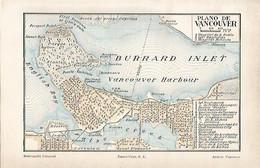 LAMINA ESPASA 4857: Plano De Vancouver Canada - Unclassified