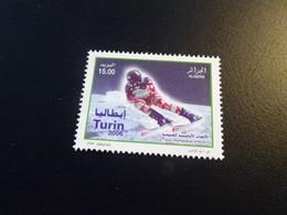 K49208  - Stamp  MNh Algeria - Algerie  2006 - Olympics Torino - Winter 2006: Torino