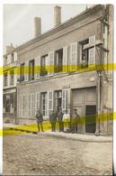 08 ARDENNES VOUZIERS RUE TAINE  CARTE PHOTO ALLEMANDE MILITARIA 1914/1918 WK1 WW1 - Vouziers