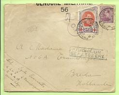 134+140  Op Brief Stempel PMB 6 Op 4/7/17 Naar Breda , Strookje CENSURE MILITAIRE 56+C.F. (Folkestone)+GEPASSEERD  (B390 - Esercito Belga