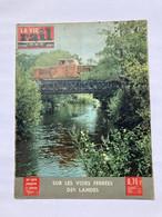 Vie Du Rail 1963 879 LANDES BRINON BEUVRON OUROUX MONTIGNY AUX AMOGNES CORBIGNY RION DES LANDES MORCENX LABOUHEYRE - Trains