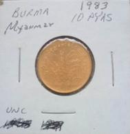 Myanmar (Burma) 1983 - 10 Pyas - Myanmar
