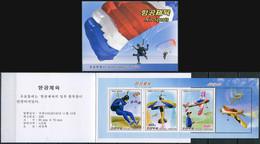 Korea 2016. Air Sports (MNH OG) StampPack - Korea (Nord-)