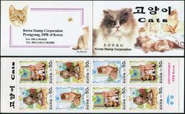 Korea 2000. Cats (MNH OG) StampPack - Korea (Nord-)