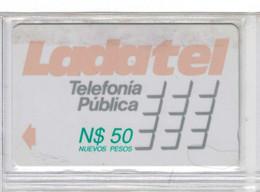 Mexico - Ladatel (GPT) - N$50 - 20MEXC (Lettre B) - Voir Scans - Mexique